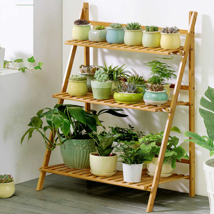 Bamboo Flower Rack A Type